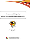 cover photo of Cultural Intervention Models