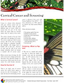 cover photo of Cervical Cancer