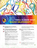 cover photo of 10 Things to know - Healthy Relationships