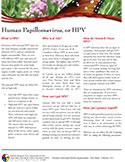 cover photo of Human Papilloma Virus - HPV