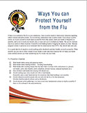 cover photo of Flu Prevention