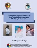 cover photo of Models Maternity Care Needs Assessment