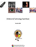 cover photo of Children Technology Factsheet